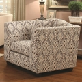 Siana Beige Fabric Accent Chair