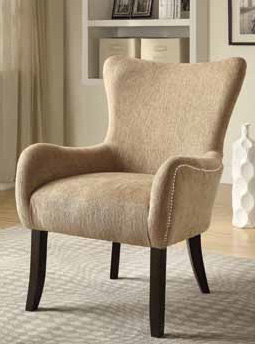 Beautiful Beige Accent Chair Decor