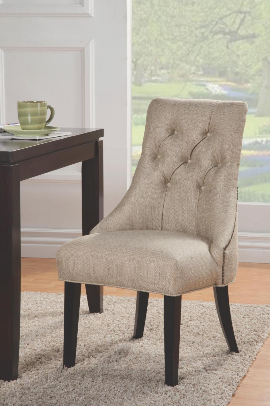 Beige Fabric Accent Chair Steal A Sofa Furniture Outlet