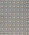 Beige Fabric Floor Rug