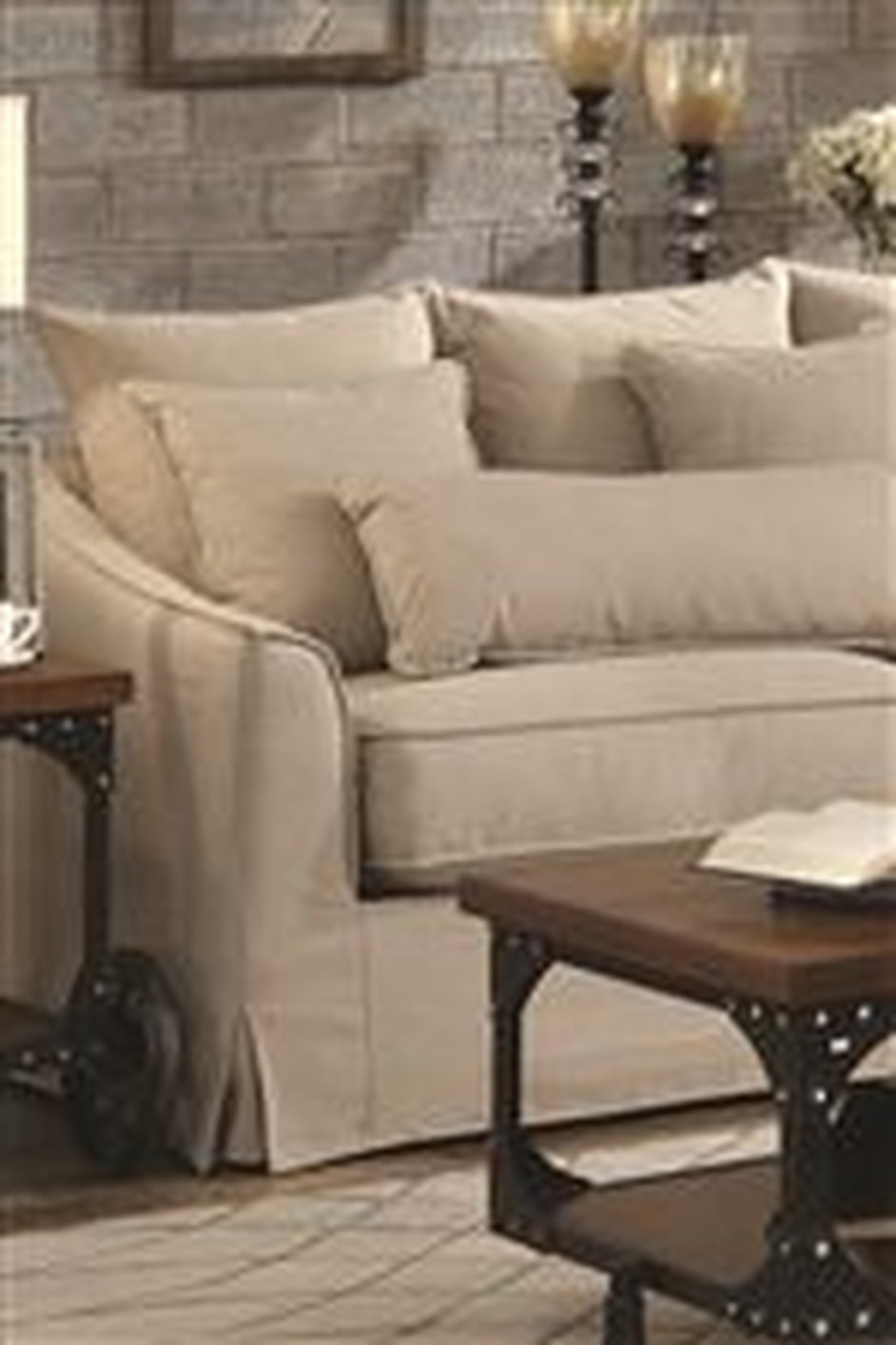 Coaster 500180 beige fabric sectional sofa steal a sofa for Sectional sofa los angeles ca