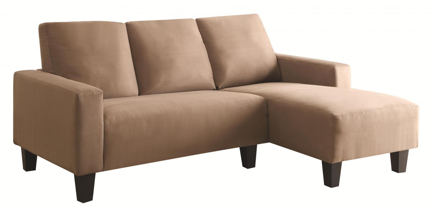 Coaster Sothell 500016 Beige Fabric Sectional Sofa Steal