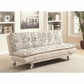 Dilleston Beige Fabric Sofa Bed
