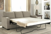 Beige Fabric Sofa Bed
