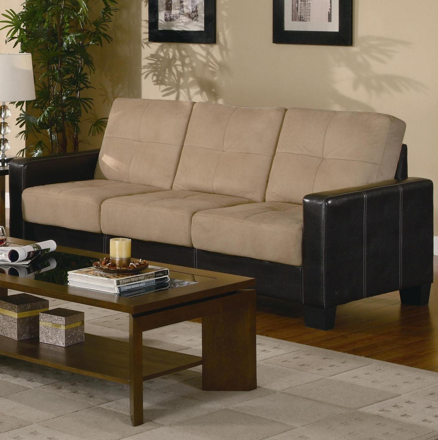 Beige Leather Sofa Loveseat And Chair Set Steal A Sofa