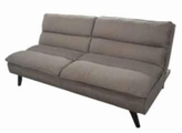 Beige Metal Sofa Bed