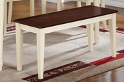 Brown Wood Bench