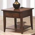 Bentley Brown Wood End Table