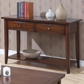 Bentley Brown Wood Sofa Table