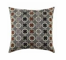 Black Fabric Accent Pillow