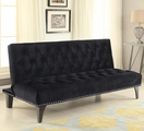 Black Fabric Futon