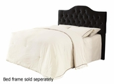 Black Fabric Headboard