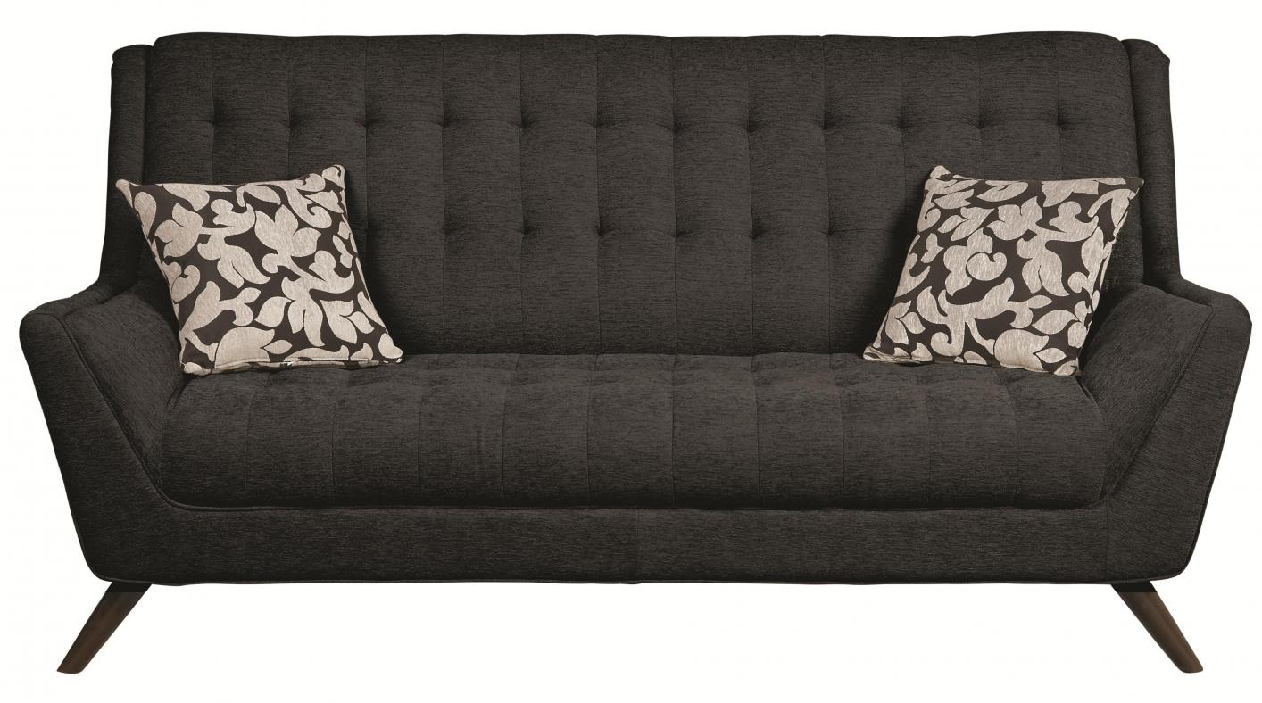 Natalia Black Fabric Sofa Steal A Sofa Furniture Outlet Los