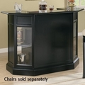 Black Wood Bar Unit