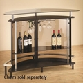 Black Metal Bar Unit