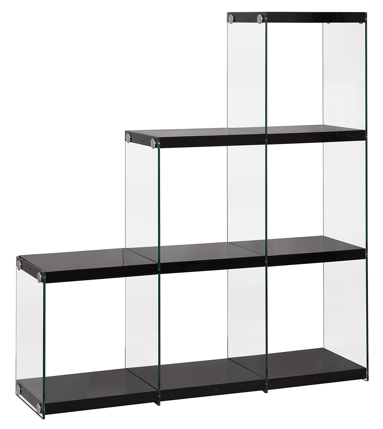 Design Glass Bookcase black glass bookcase steal a sofa furniture outlet los angeles ca bookcase