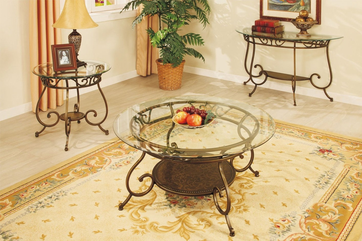 Round Glass Coffee Tables For Sale Black Glass Coffee Table Steal A Sofa Furniture Outlet Los
