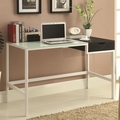 Black Glass Desk