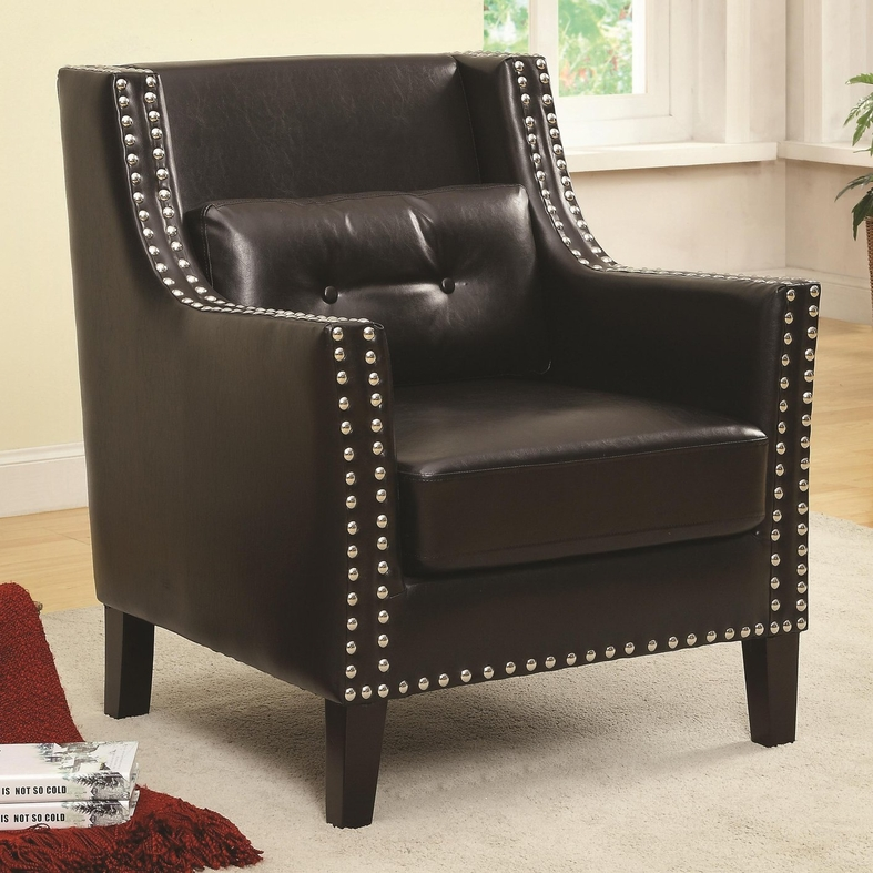 black leather occasional chair black leather accent chair steal a sofa furniture outlet 11215 | black leather accent chair 29