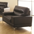 Benjamin Black Leather Chair