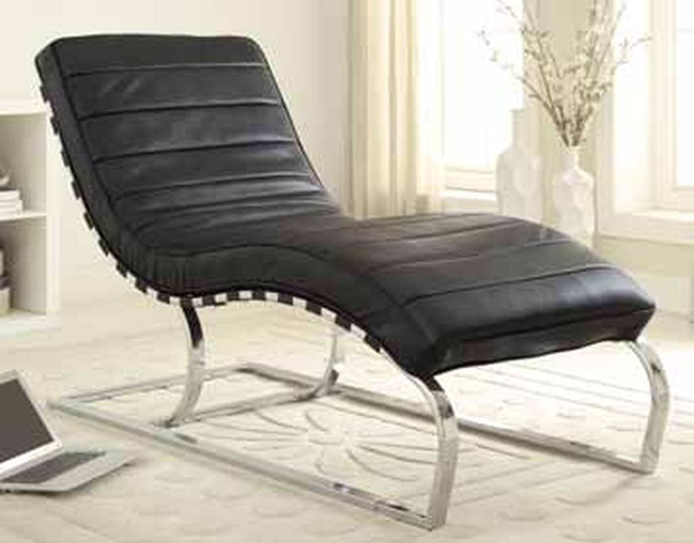 black leather chaise lounge steal a sofa furniture outlet los angeles ca. Black Bedroom Furniture Sets. Home Design Ideas