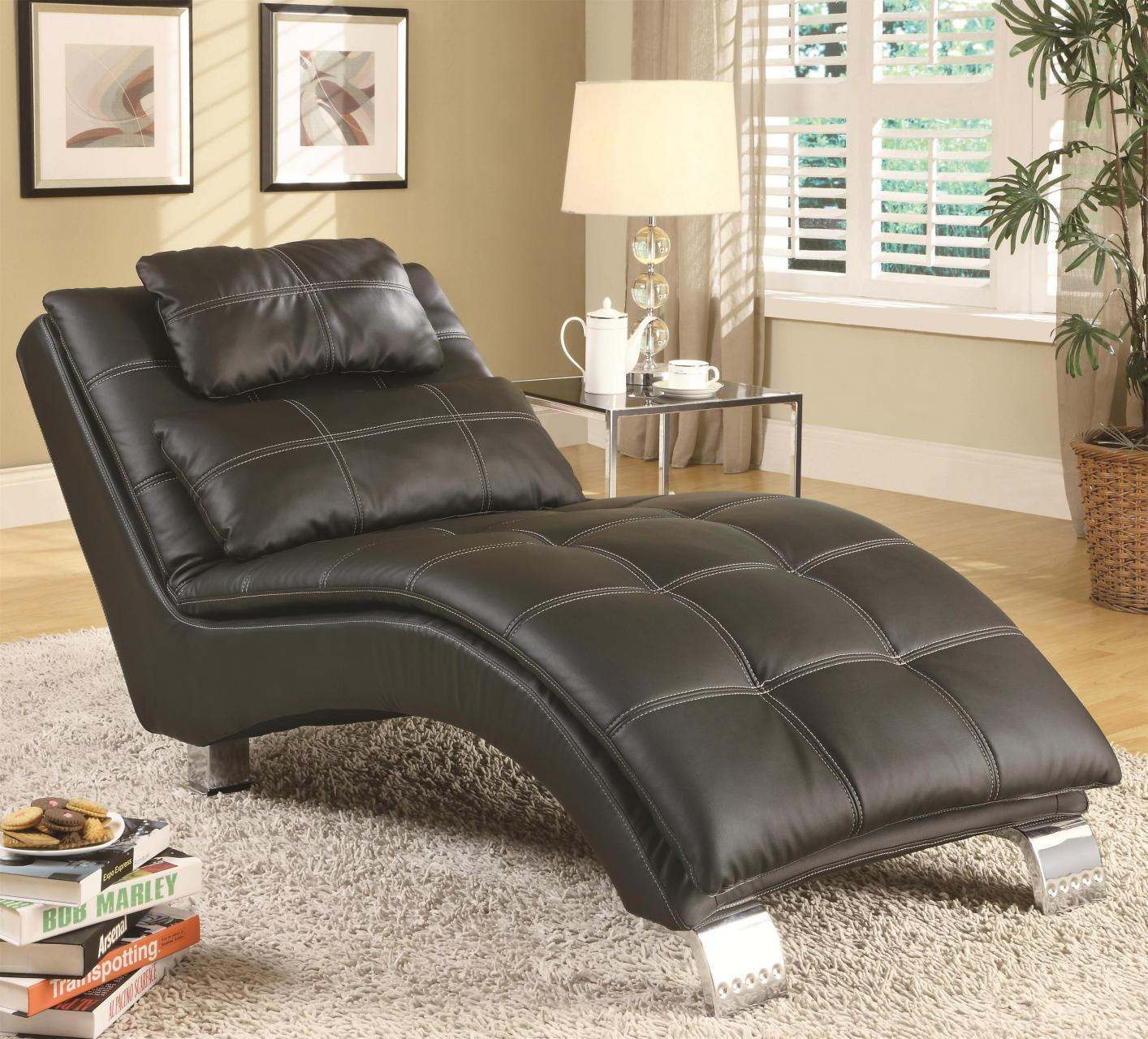 Black Leather Chaise Lounge : where to buy chaise lounge - Sectionals, Sofas & Couches