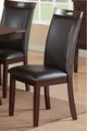 Black Leather Dining Chair