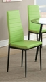 Green Metal Dining Chair