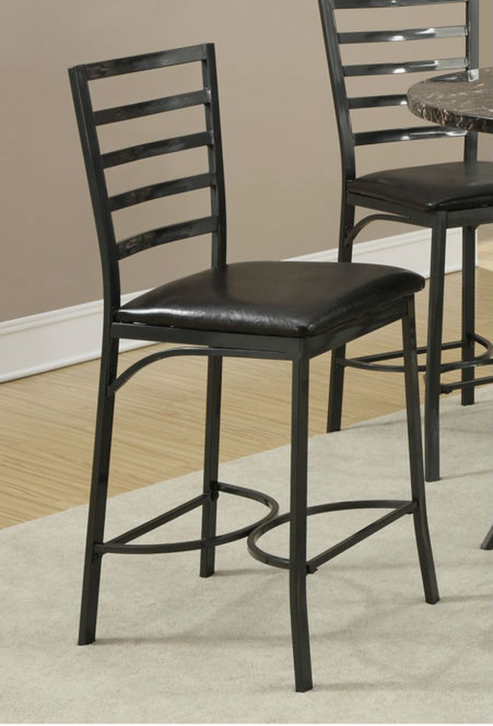 black leather dining chair steal a sofa furniture outlet los angeles ca. Black Bedroom Furniture Sets. Home Design Ideas