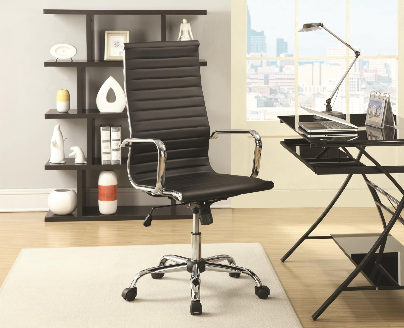 Good Black Leather Office Chair
