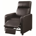 Black Leather Reclining Chair