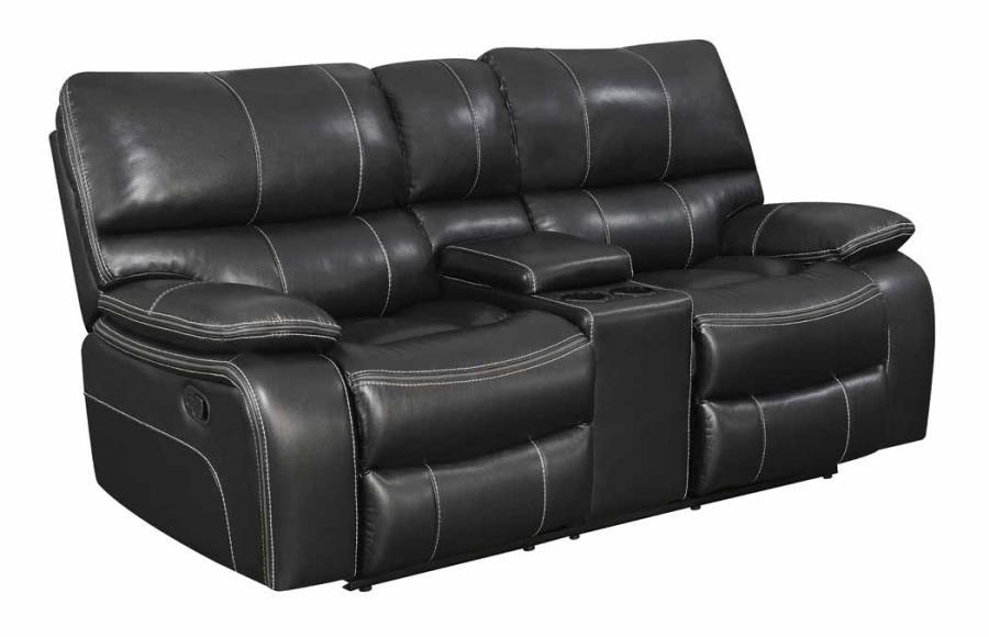 Black Leather Reclining Sofa Steal A Sofa Furniture