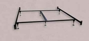 Black Metal California King Size Bed Frame