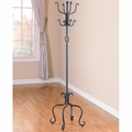 Black Metal Coat Rack