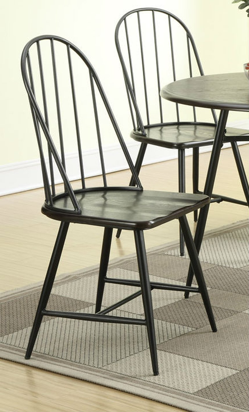 Black Metal Dining Chair Steal A Sofa Furniture Outlet