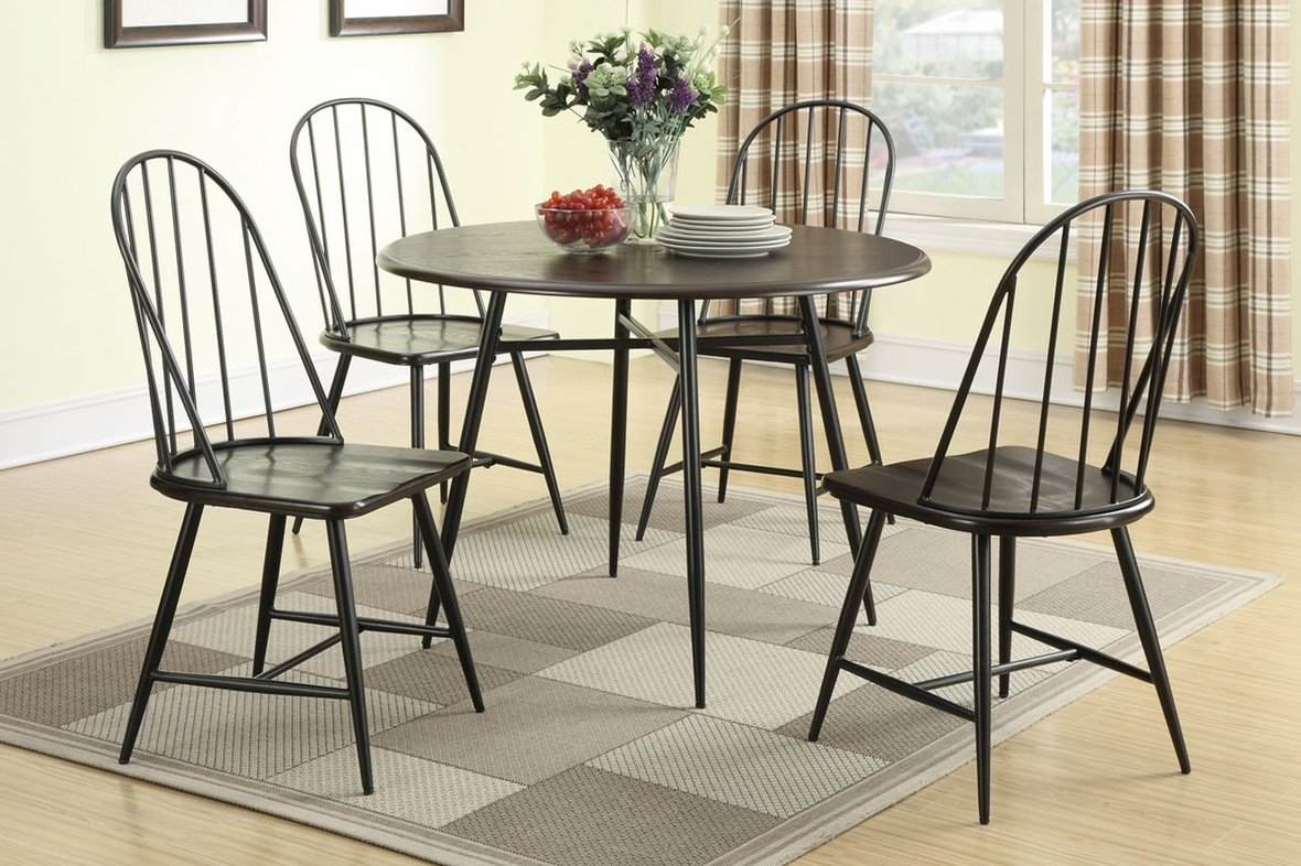 black metal dining chair steal a sofa furniture outlet los angeles ca. Black Bedroom Furniture Sets. Home Design Ideas