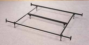 Black Metal Eastern King Size Bed Frame