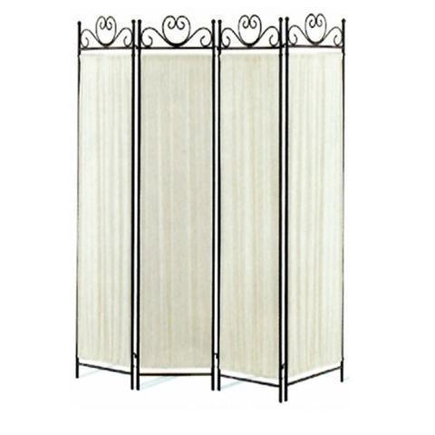 Beige Metal Folding Screen Steal A Sofa Furniture Outlet Los Angeles Ca