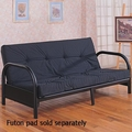 Black Metal Futon Frame