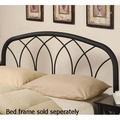 Black Metal Headboard