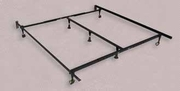 Black Metal Queen or Cal King or Eastern King Size Bed Frame