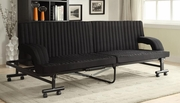 Black Metal Sofa Bed