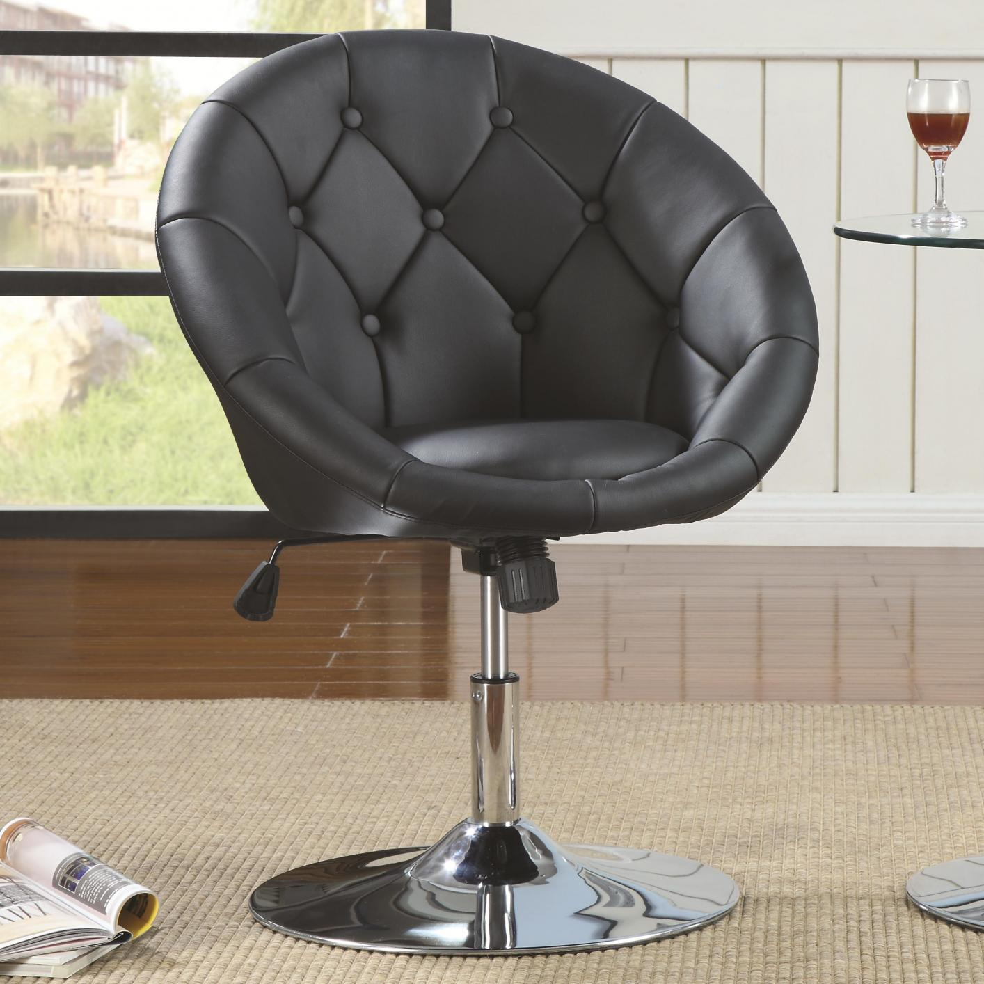 Black Metal Swivel Chair Steal A Sofa Furniture Outlet Los