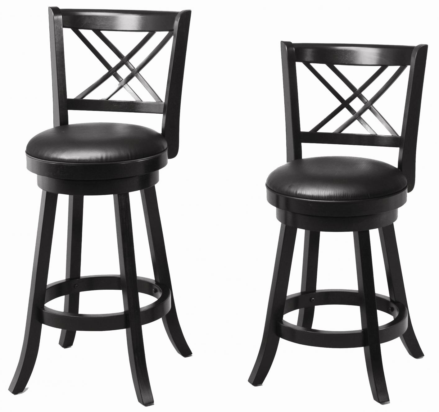 black wood bar stool steal a sofa furniture outlet los angeles ca. Black Bedroom Furniture Sets. Home Design Ideas