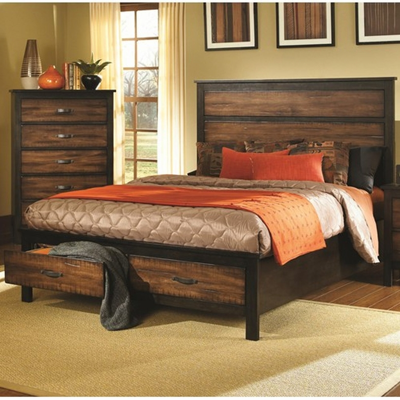 Coaster 202300kw Black California King Size Wood Bed