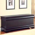 Black Wood Cedar Chest