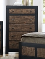 Segundo Brown Wood Chest of Drawers