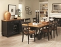 Black Wood Dining Table