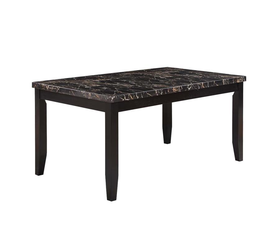 Coaster 102791 Black Wood Dining Table Steal A Sofa  : black wood dining table 804 from www.stealasofa.com size 900 x 740 jpeg 31kB