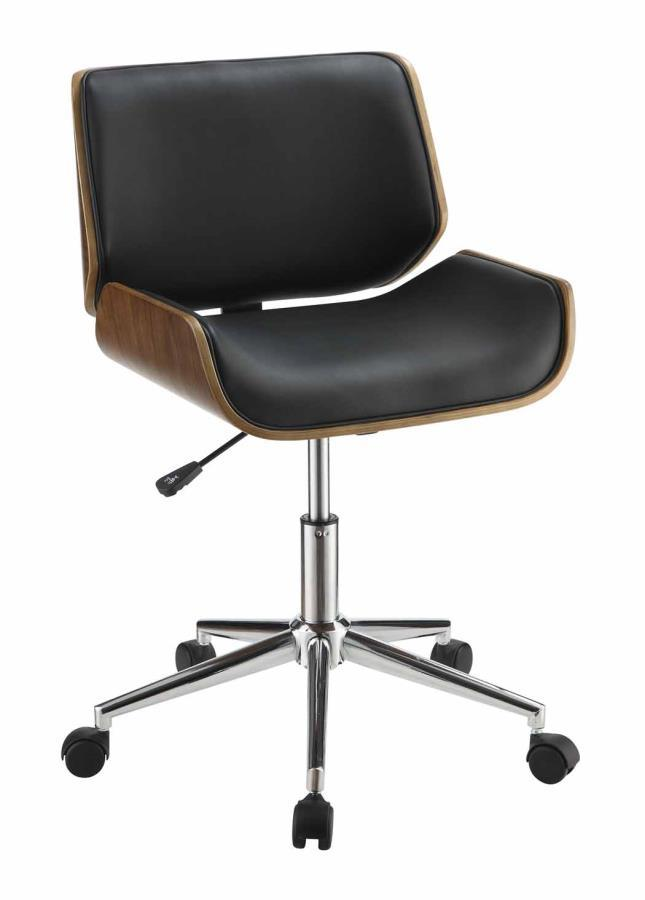 Black Wood Office Chair Steal A Sofa Furniture Outlet
